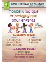 CONCERT PÉDAGOGIQUE ENFANTS 3-12 ANS
